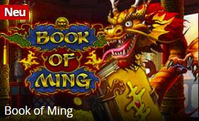 Eine TOP Book of Ra Alternative und Novoline Alternative ist ming book