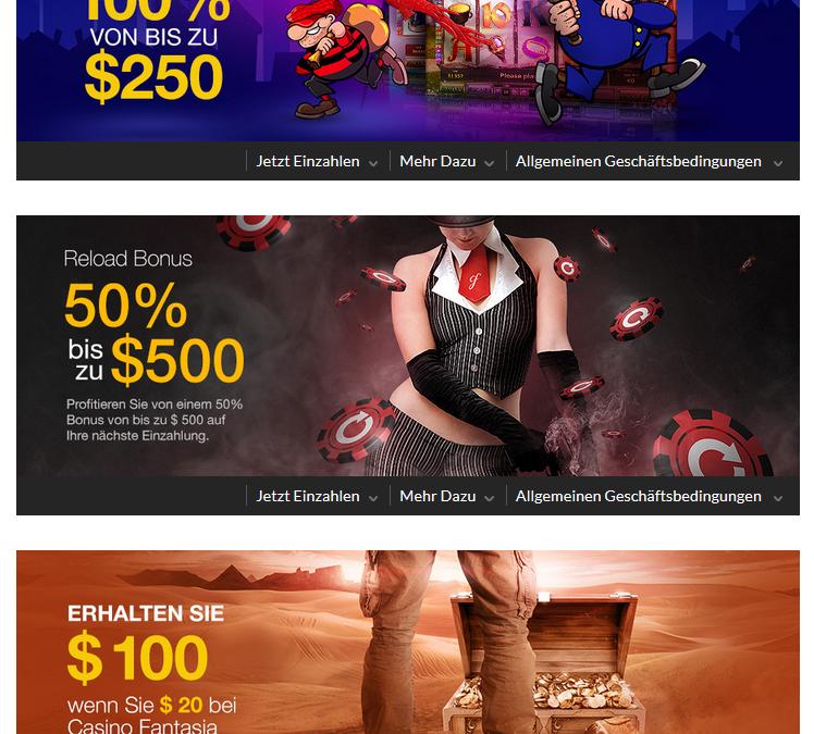 Bonusbedingungen bei Online Casinos