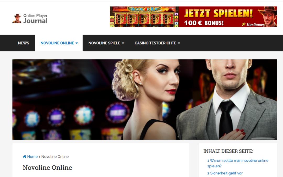 Neues zu Novoline Casinos